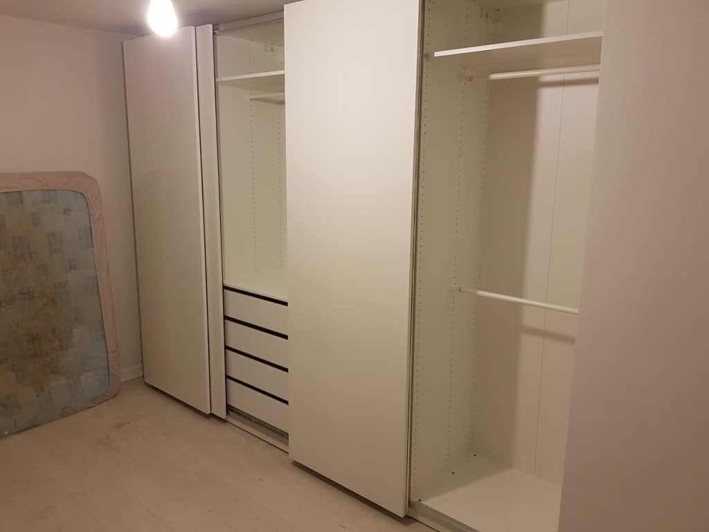 Ikea Pax Sliding Wardrobe Assembly Flatpack Yorkshire